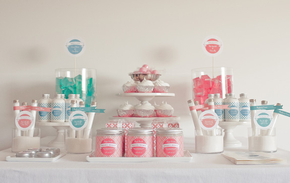 If your bride of honor loves the idea of a wedding candy bar