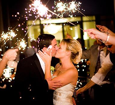 wedding sparklers | The I Do Wedding Studio
