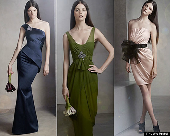 Affordable bridesmaid dresses by vera wang the i do for Affordable vera wang wedding dresses
